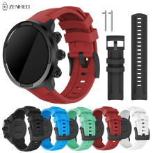 For Suunto 9 Silicone Strap Replacement Watchband for Suunto Spartan Sport Wrist HR Smart Watch Band