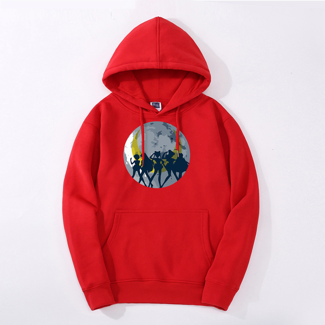 SAILOR MOON THEMED HOODIE (8 VARIAN)