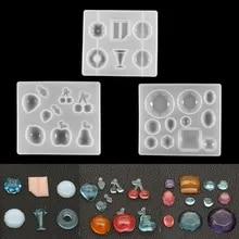 Resin Mold Silicone Mold Epoxy Mold 12 Stud Earrings Swirl Stud Earring Silicone Mold