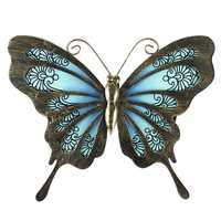 Garden Butterfly of Wall Artwork for Home and Outdoor Decorations Statues Miniatures Sculptures