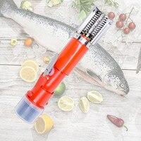 2018 전기 물고기 스케일러 범용 저울 강력한 물고기 피부 descaler 스크레이퍼 블레이드 나이프 충전식 리튬 배터리 도구|만능 조리 기구|   -