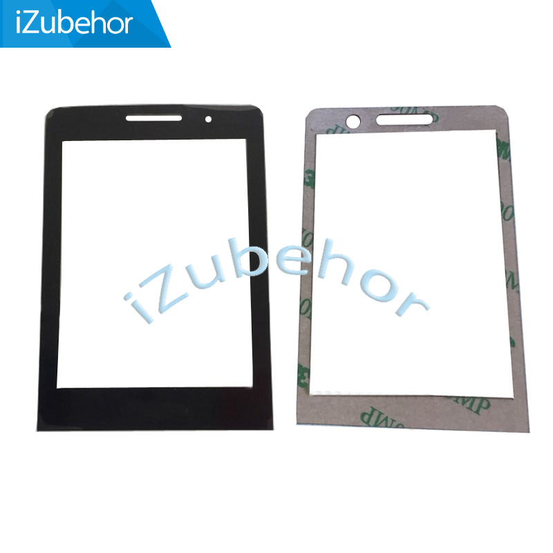 100% warranty For <font><b>Philips</b></font> <font><b>E570</b></font> E571 outer front touch lens panel + free adhesive sticker free shipping image