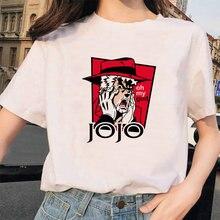 Футболка женская с японским аниме смешная Повседневная рубашка