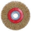 Проволочная щетка колесо для шлифовальной машины полировка + редукторы переходные кольца  5 дюймов 125 мм