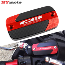 High Quality Motorcycle Accessories Front Brake Cylinder Caps Fluid Reservoir Cover For Honda CB650F CB650R CB 650R 650F 650 R/F