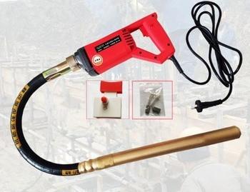 Vibrador de hormigón de 220V, 35mm, voltaje estable, 800W, herramientas de construcción de Motor, 351-A, alta calidad