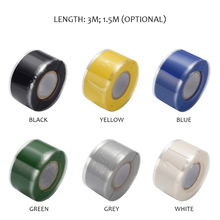 Waterproof Self-adhesive Silicone Rubber Sealing Insulation Repair Tapes For Electrical Cables Connections Water Pipe