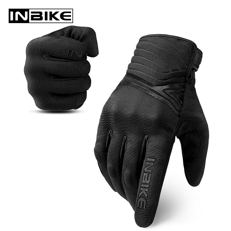 INBIKE Motorcycle Gloves Men Hard Shell Protection Motorbike Gloves Touch Screen Racing Motocross Protective Gear Moto Gloves