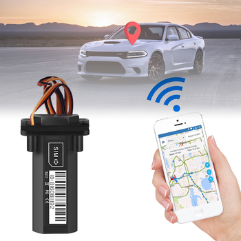 Mini Waterproof Builtin Battery GSM GPS tracker GT02 for Car motorcycle vehicle device with online tracking software image