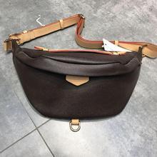 2021 Genuine Leather Luxury Brand High Quality Gift Box Belt Bag