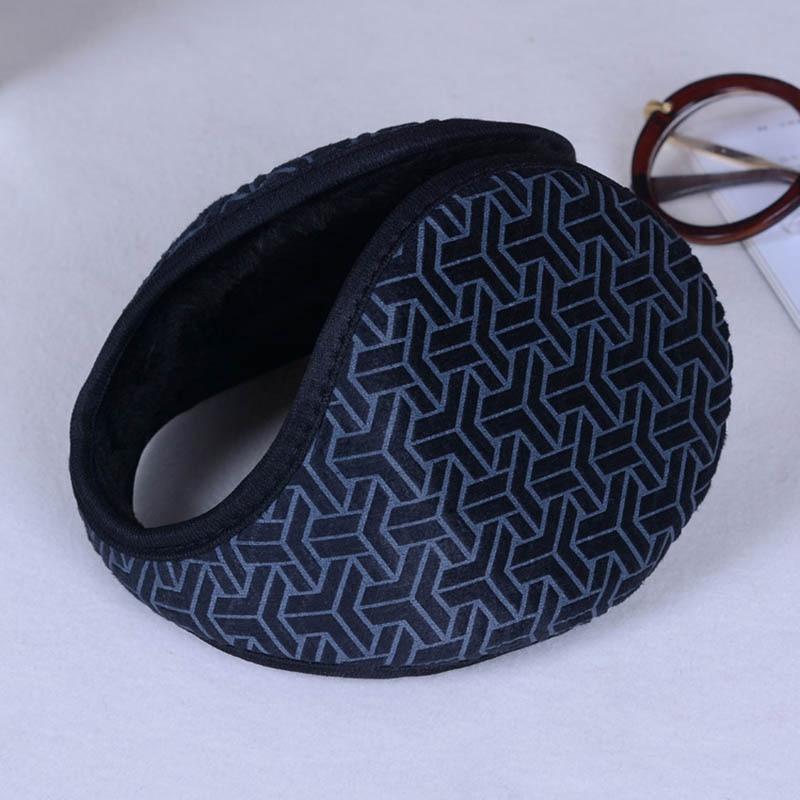 Calymel Winter Unisex  Warmer Earmuff Warm Plush Solid Ear Muffs Cover Earwarmers Ear Muffs Earlap Warmer