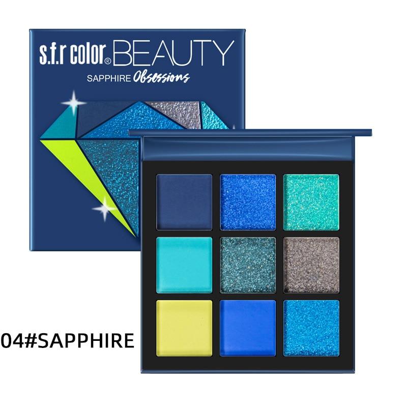 9 Color matte Eyeshadow Eye Makeup Waterproof Mineral Powder Shimmer Eye Shadow Make up Palette Cosmetics For Women|Eye Shadow| - AliExpress