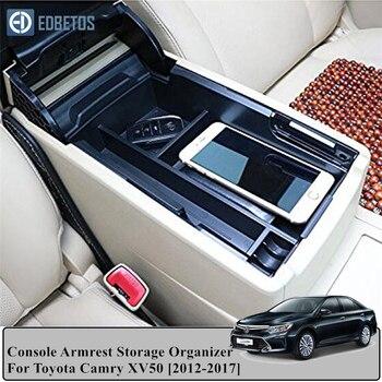 Для Toyota Camry 2012 2013 2014 2015 2016 2017 аксессуары центральный автомобильный подлокотник для хранения коробка авто контейнер перчатка Органайзер чехол Все для уборки      АлиЭкспресс