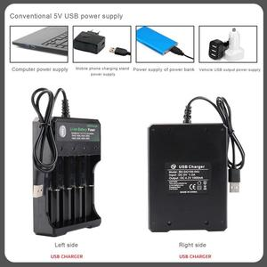 Image 5 - 18650 Battery Charger Black 1 2 4Slots AC 110V 220V Dual For 18650 Charging 3.7V Rechargeable Lithium Battery