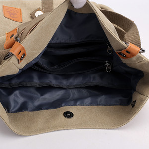 Image 5 - New Women Shoulder Bag  Ladies Messenger Bag Brand Luxury Handbags Women Bags Designer large capacity Leisure Canvas Totes Sac