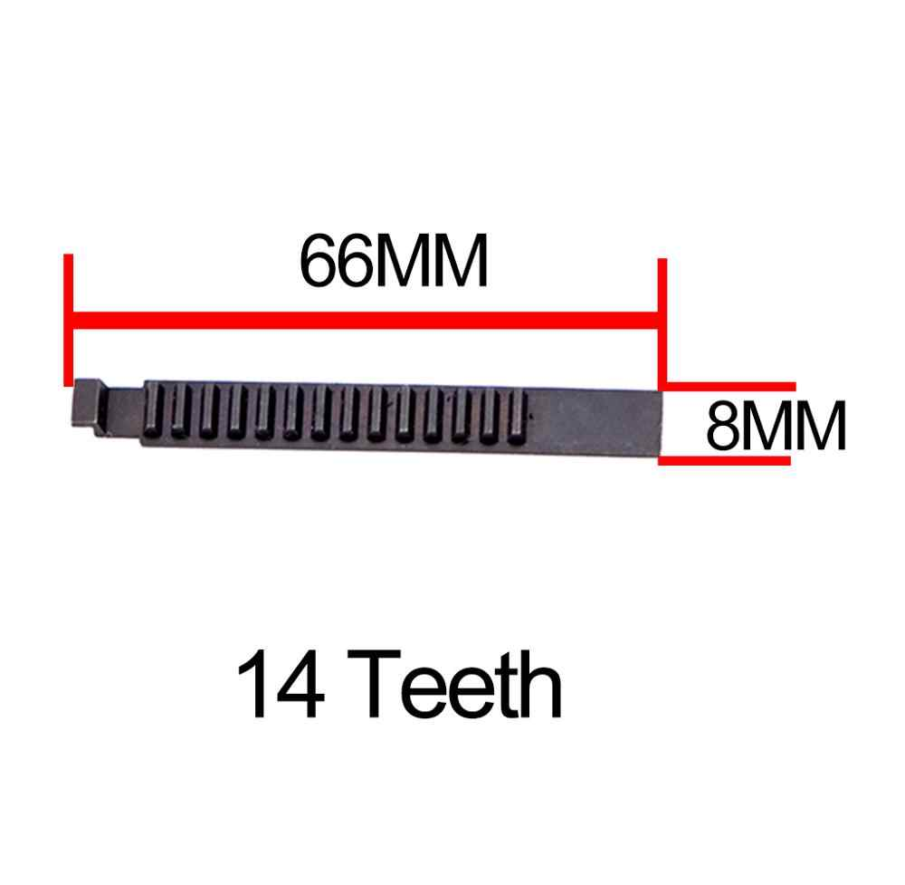14/15 الأسنان المكبس الأسود عالية الكربون الألياف عززت كامل الصلب ل Airsoft M4 AK G36 MP5 علبة التروس التكتيكية الصيد الملحقات