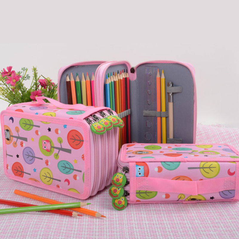 Kawaii Penal For Back To School Pencil Case Big 32 52 72 Holes Pen Box Cute Pencilcase Large Korean Cartridge Bag Stationery