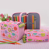 Kawaii Penal for Back to School Pencil Case Big 32 52 72 Holes Pen Box Cute Pencilcase Large Korean Cartridge Bag Stationery|Pencil Cases| |  -