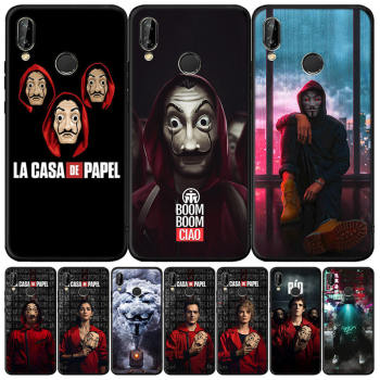 Madman Horror Terror Hat Case For Huawei P20 P30 P40 E Lite Pro P Smart Z Plus 2019 Back Cover for Huawei Mate 30 20 Pro 10 Lite image