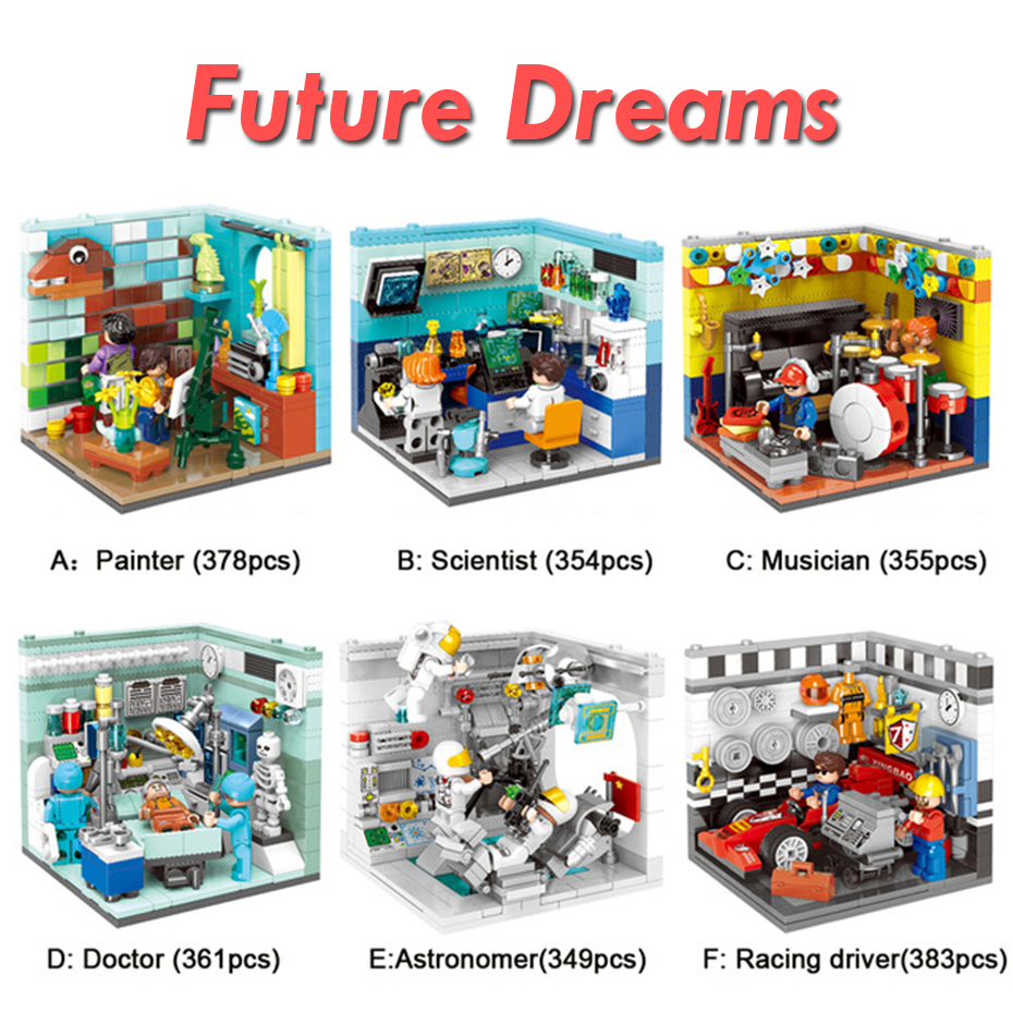 XINGBAO-01402-Genuine-Building-Blocks-The-Living-House-Set-Building-Bricks-Educational-Toys-Compatible-with-LOGO