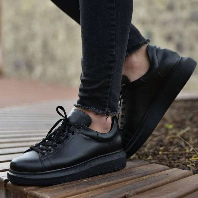 Chekich CH257 Black ST Male Sneakers Comfortable Flexible Fashion Style Leather Wedding Classic Sneakers кеды Spring 2020