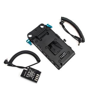 Image 5 - WY VG1 Power Supply System V Mount Battery Plate Adapter with DMW DCC12 Cable for Broadcast SLR HD camera