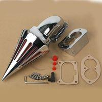 Motorcycle Spike Air Cleaner Intake Filter For KAWASAKI Vulcan VN1500 VN1600 02 09 03 04 05