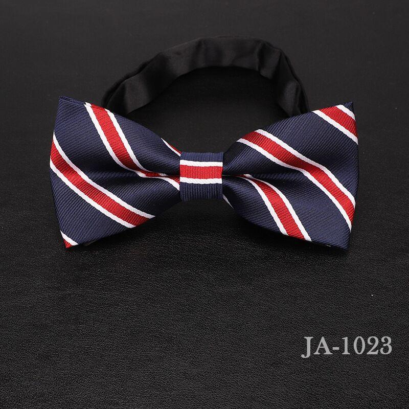 Дизайнерский галстук-бабочка, высокое качество, мода, мужская рубашка, аксессуары, темно-синий, в горошек, галстук-бабочка для свадьбы, для мужчин,, вечерние, деловые, официальные - Цвет: 1023