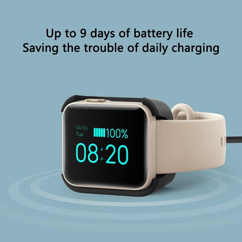 Xiaomi Mi часы Lite смарт-браслет GPS фитнес-трекер фитнес-браслет сердечного ритма 1,4 дюймов будильник Redmi Смарт-часы глобальная версия-4