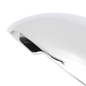 Image 4 - Side Wing Mirror Cover for Porsche Macan 2014 2015 2016 2017 2018 2019 2020 Chrome Trim Exterior Rearview Mirror Cap Cover
