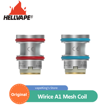 Coil Hellvape Wirice Mesh Replacement Launcher-Tank Original A1 with W802/0.21ohm