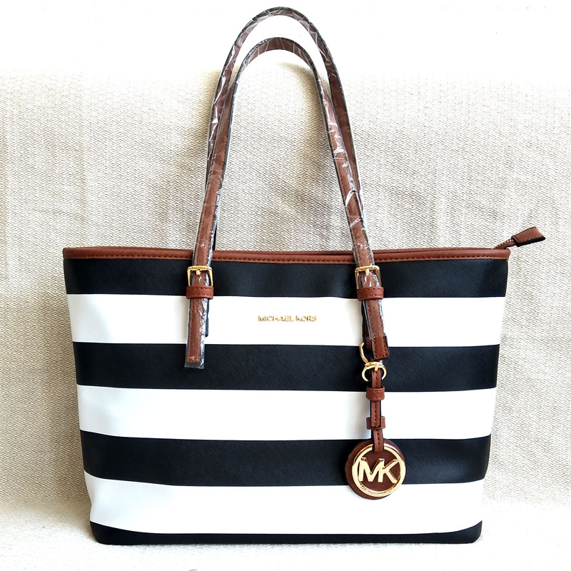 2019 New Luxury Women's Handbags Fashion PU Leather Shoulder Bags Thick Stripe Large Shopping Bags High Quality Tote Bags