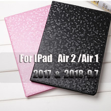 For IPad Air 2 Air 1 Case PU Leather Wakeup/Sleep Cover Case For IPad Case 2018 2017 9.7 Smart Cover For IPad Air 2 Case(China)