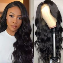 Long Brazilian Body Wave Wig Free Part Glueless Pre Plucked