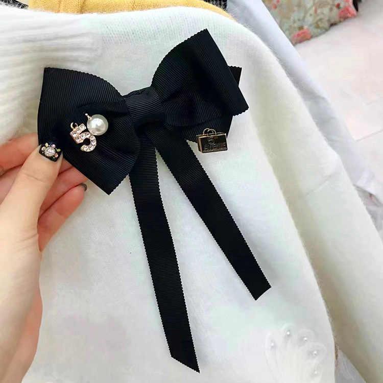 I-Remiel Archi Papillon Arco Del Nastro Del Collare Spilla Cravatta Accessori Lungo Ago Spilla di Arte Del Panno Vestiti Vestito Farfalla per delle Donne