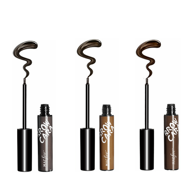 Lazy Makeup Eyebrow Enhancers Liquid Gel Long Lasting Waterproof Easy to Wear Tear Peel-off Brow Tattoo Tint Eyes Brows Natural 5