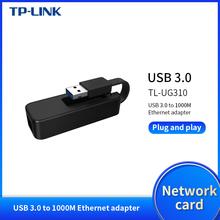 TP-LINK TL-UG310 External USB 3 0 Wired Ethernet Network Card Adapter USB 10 100 1000M Ethernet RJ45 Lan for Windows MAC Linux cheap Tenda 10 100 1000Mbps CN(Origin) Laptop USB3 0 Gigabit Ethernet