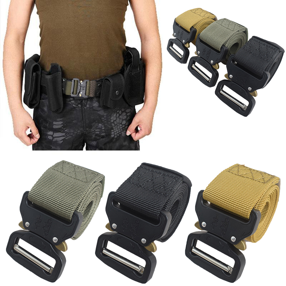 Training Belt Military-Tactical Outdoor Multi-Functional title=