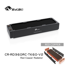 Bykski 360Mm Koperen Radiator Rc Serie High-Performance Warmteafvoer 60Mm Dikte Voor 12Cm Fan Koeler, CR-RD360RC-TK60-V2