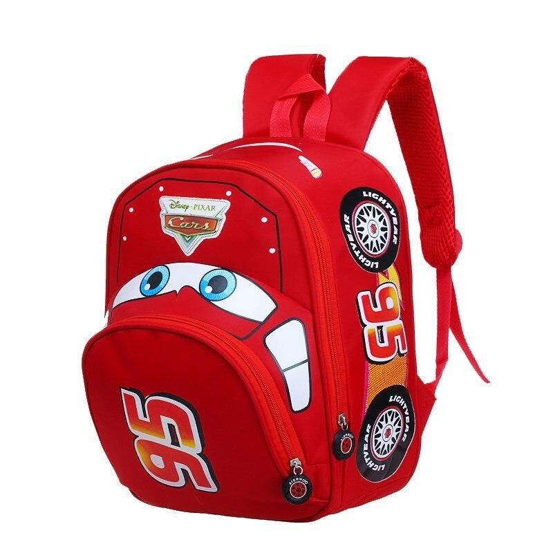 Kindergarten Car School Bag For Top Class In 3-4-6-Year-Old BOY'S Cartoon Cute Children Baby Backpack Fashion