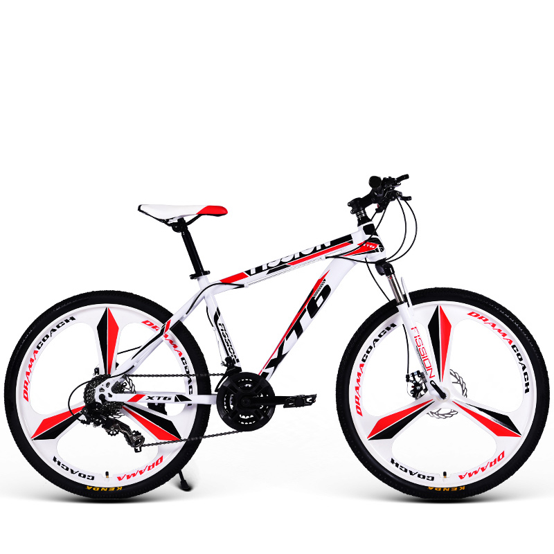 26 Inch Mountain Bicycle 21/24/27/30 Speed Adult Variable Speed Bicycle Student Flagship Off-Road Double Disc Brake Bicycle