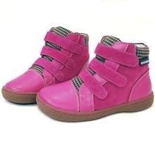 PEKNY BOSA zapatos, botas infantiles niños niñas genuino tobillo de Cuero-Botas botas de goma de fino suave Fondo zapatos descalzos 25-35