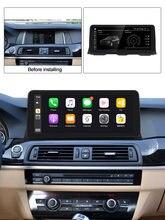 Android 10 IPS 4G Carplay Radio samochodowe Stereo Gps IPS ekran dla BMW serii 5 F10/F11/520 (2011-2016) dla oryginalnego CIC/NBT