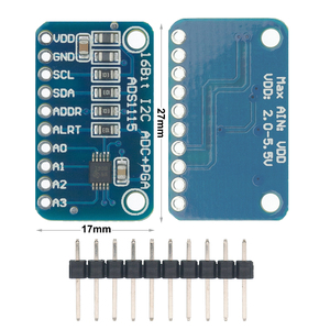 Image 1 - 10 шт. ADS1115 ADC ультра компактный 16 точный модуль ADC макетная плата I31