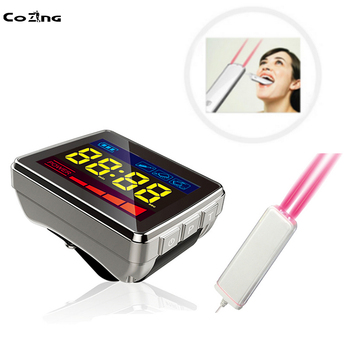 Safe Laser Therapy Mouth Ulcer 650nm Laser Acupuncture Device For Diabetes Hypertension Stroke