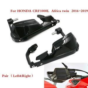 Image 1 - Honda africa twin crf1000l 용 2016 2018 dct 오토바이 윈드 쉴드 핸들 핸드 가드 모토 크로스 핸드 가드 커버
