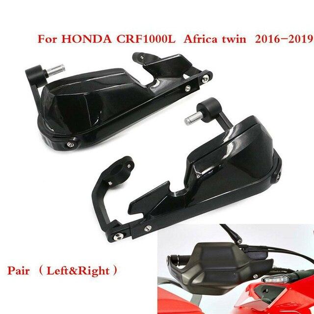 Honda africa twin crf1000l 용 2016 2018 dct 오토바이 윈드 쉴드 핸들 핸드 가드 모토 크로스 핸드 가드 커버