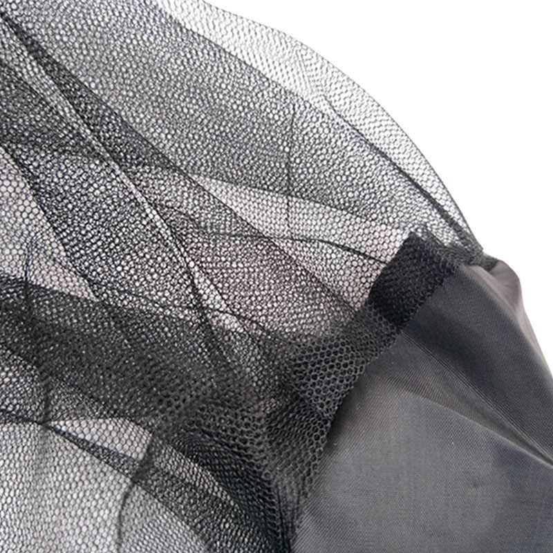 Esterna Di Sopravvivenza Anti Zanzara Copricapo Cappello di Maglia Testa Viso Protezione Per Evitare Bug Ape Insetto Acconciature All'aperto Attrezzature Da Campeggio