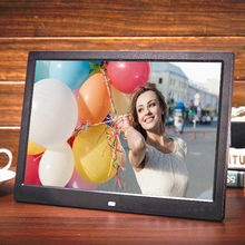 8G New 15 inch Screen LED Backlight HD 1280*800 Digital Photo Frame Electronic Album Picture Music Movie Full Function Good Gift