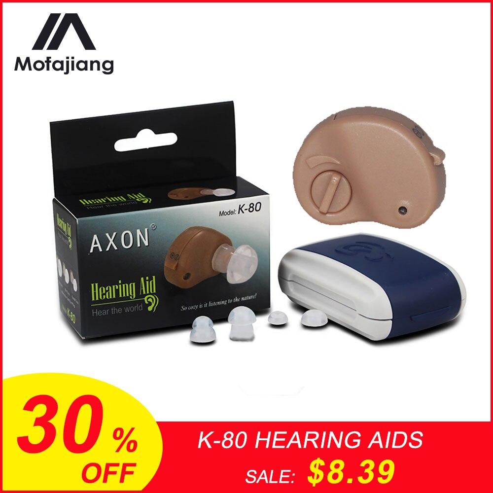Ear Care Hearing Aid Mini In-ear Sound Enhancement Digital Best Invisible Deaf Volume Sound Amplifier Ear Aid Adjustable Tone J3